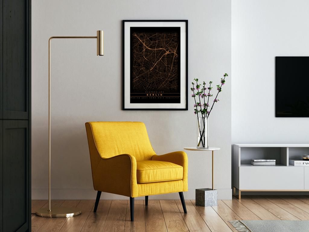 Berlin Stadplan als Poster