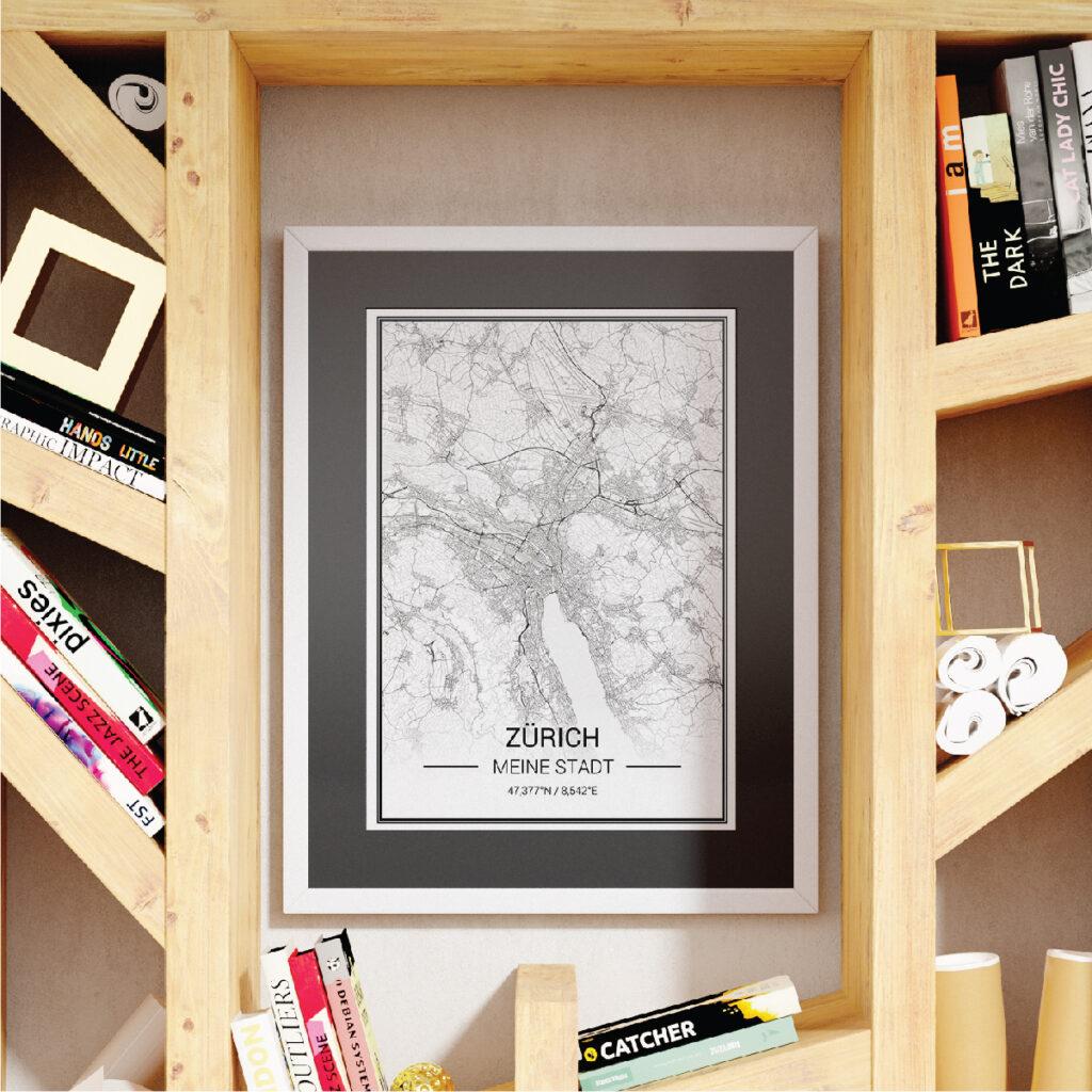 Karten Poster mit individuellen Still und persönlicher Erinnerungen gestalten...