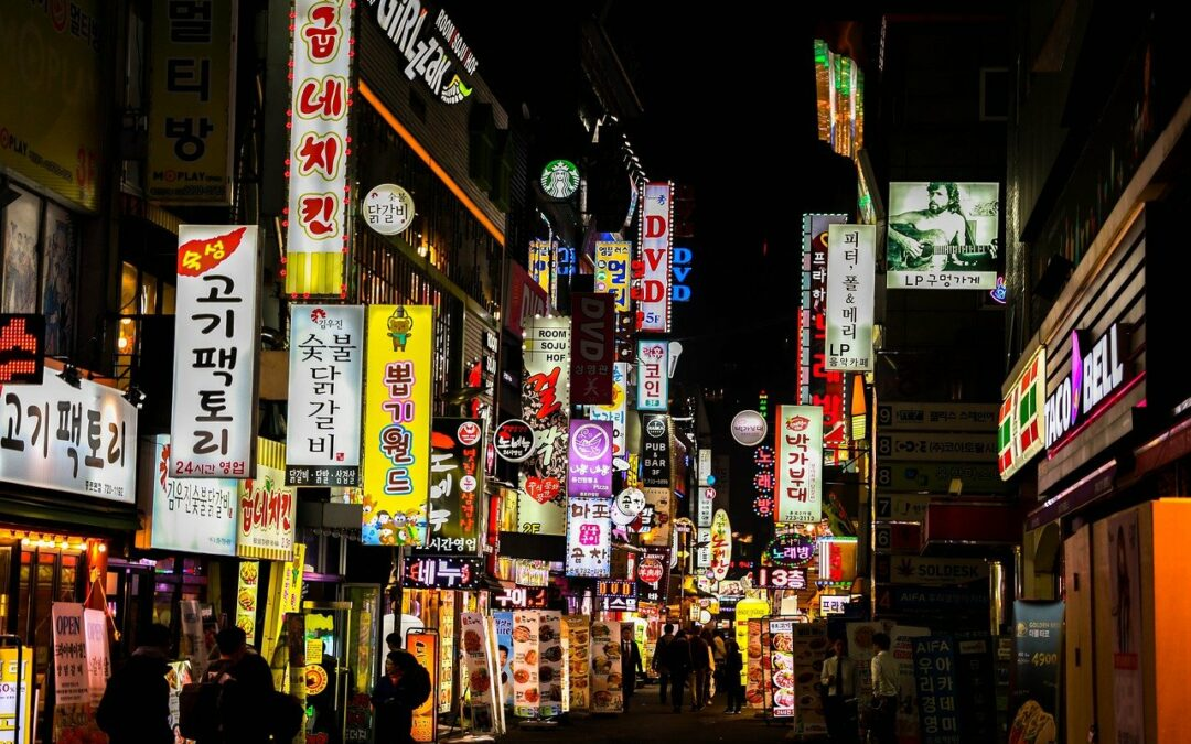 TOP10 schräge Fakten über Seoul ;-)